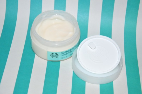 the body shop seaweed mattifying day cream 2