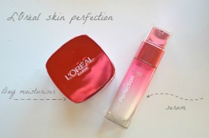 loreal skin perfection day cream serum 2