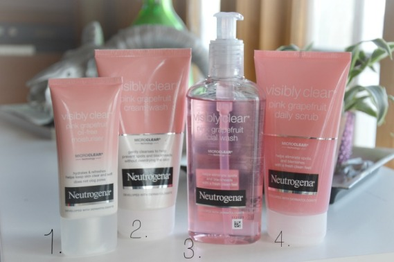 neutrogena pink grapefruit